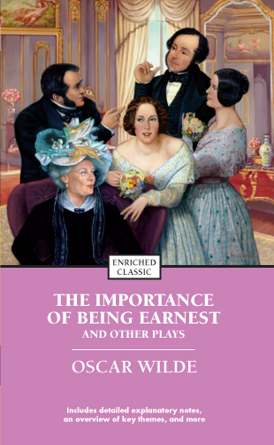 aesthetics in oscar wildes play the importance of being earnest Oscar wilde and the importance of being earnest wilde's satire uses incongruity and turns of phrases to get the humor across an artist should create beautiful things, but should put.