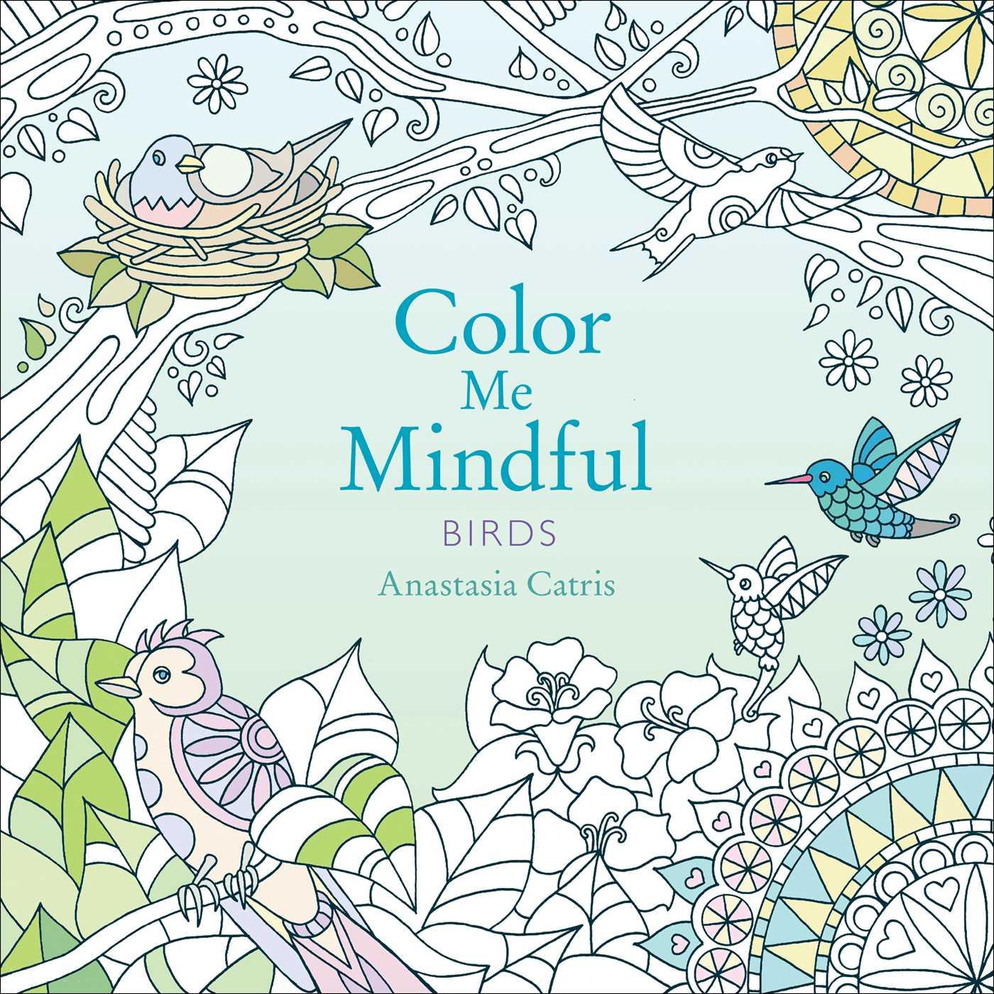 Color Me Mindful: Birds