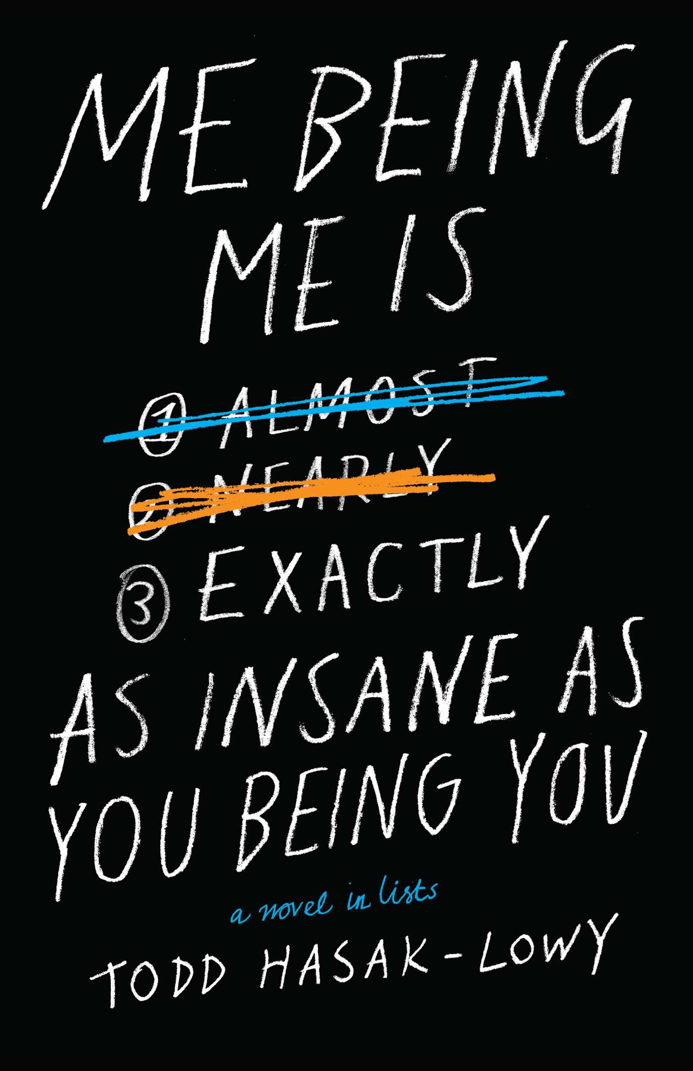 Me Being Me Is Exactly as Insane as You Being You