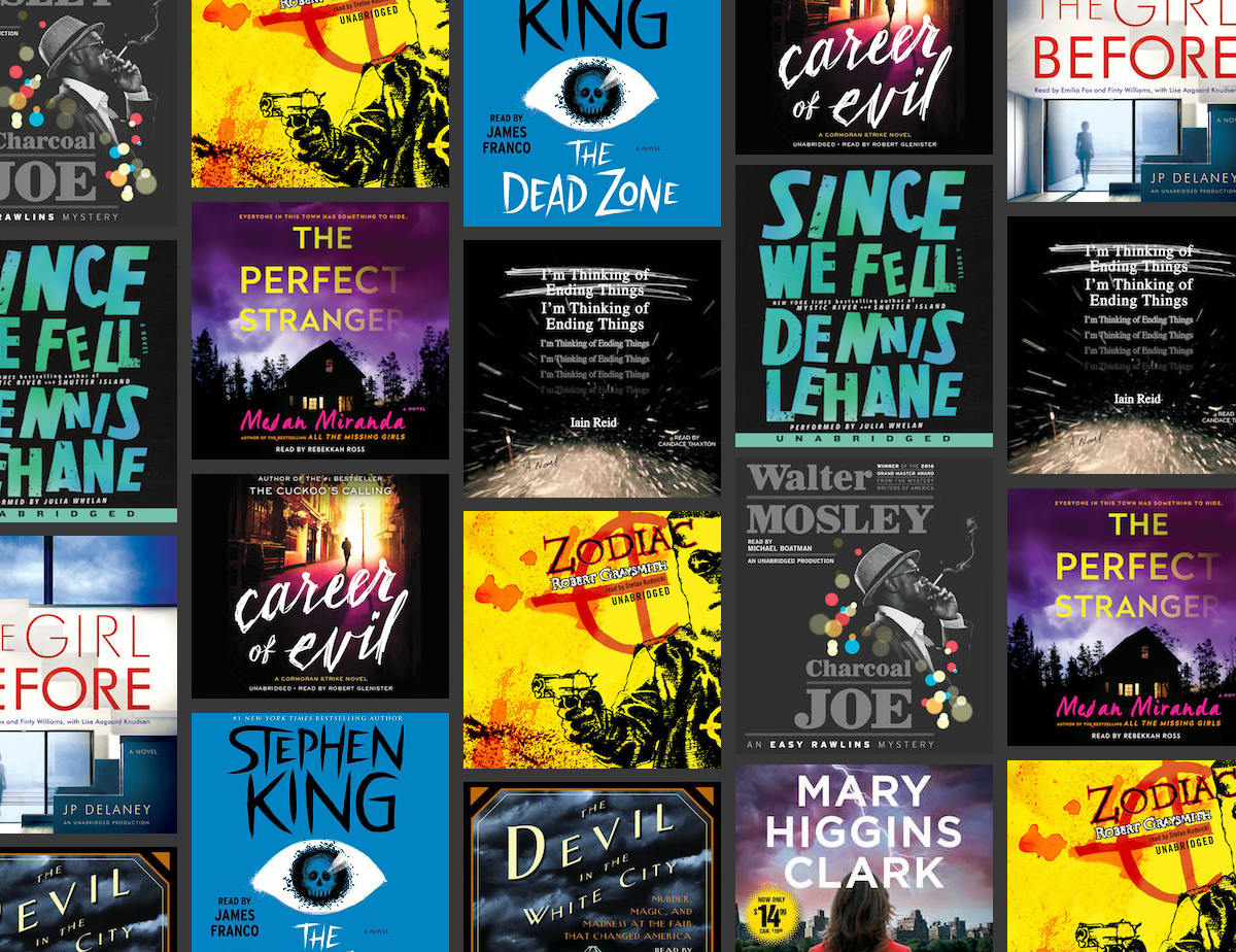 14 Audiobook Thrillers That Will Give You Chills - Off the Shelf