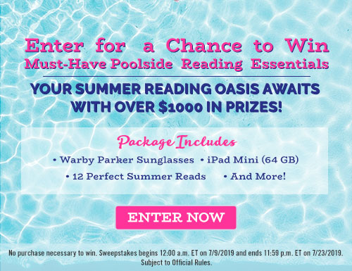 Enter for a Chance to Win Poolside Reading Essentials | Off the Shelf