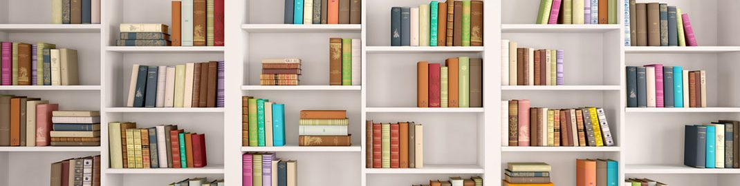 Bright Bookshelves