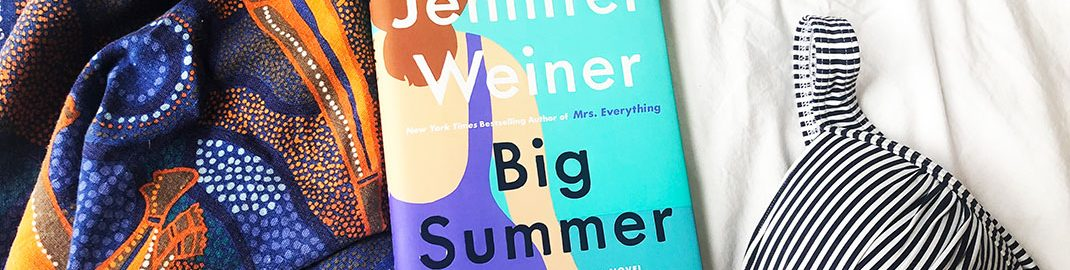 Big Summer books with summer accessories