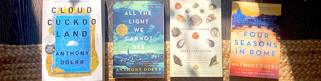 Anthony Doerr books in the sun